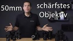 Das Schärfste 50mm Objektiv - Zeiss, Voigtländer, Samyang, Leica, Sony an A7R IV Auflösungstest
