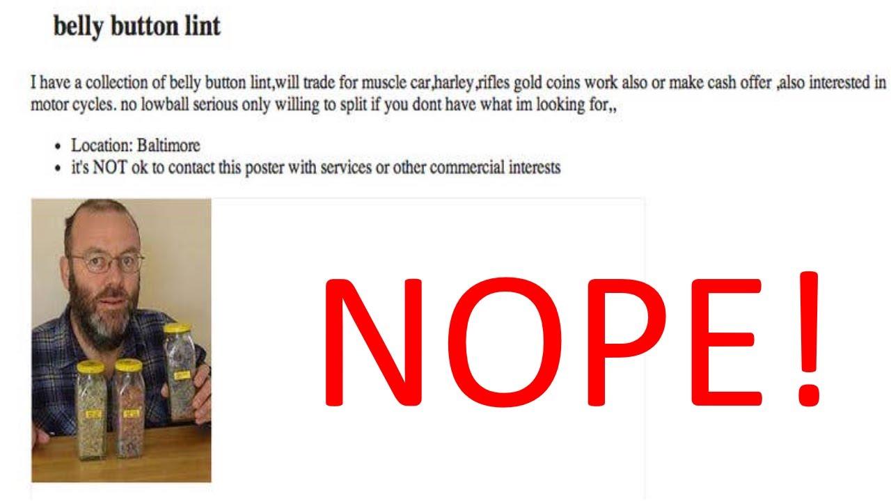 "11 Creepy Craigslist Ads That'll Make You Say ""NOPE!"""