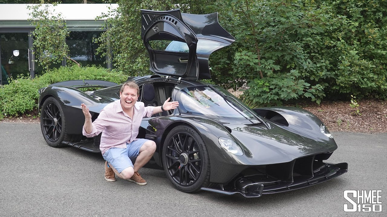 EXTREME Ride in the New Aston Martin VALKYRIE! Road Legal Formula 1 Car
