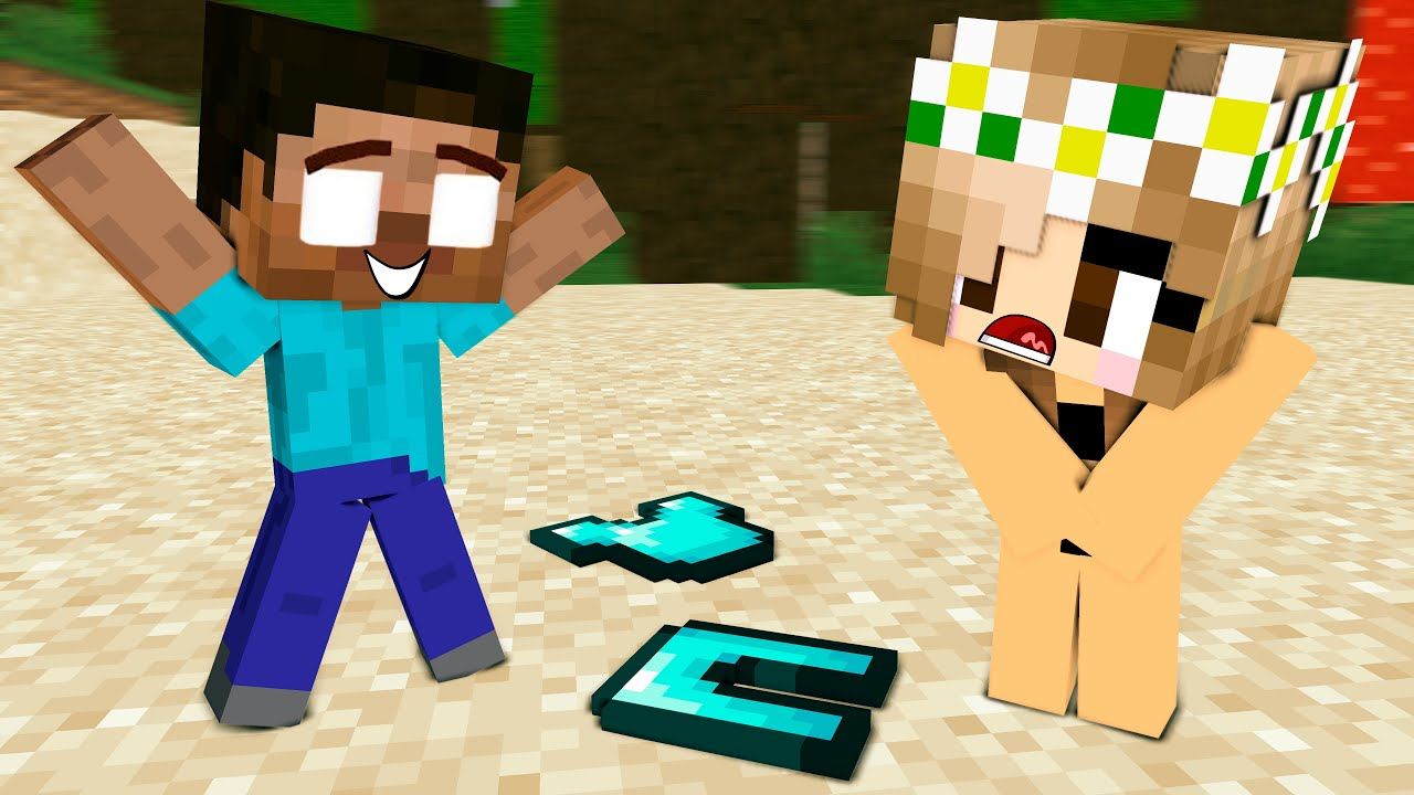 Monster School : Good Baby Zombie and Bad Zombie Girl and Herobrine Sad Story - Minecraft Animation