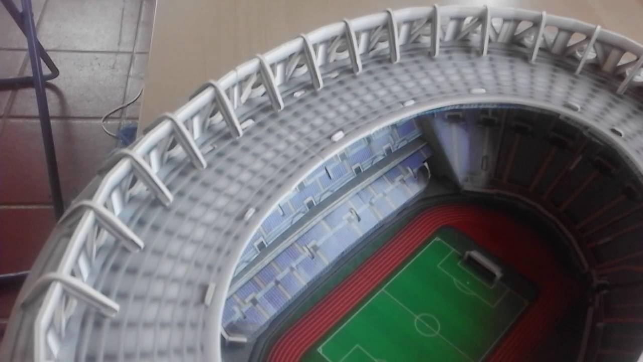 Nanostad 3d Puzzle Stadio Olimpico Di Roma Giochi Preziosi