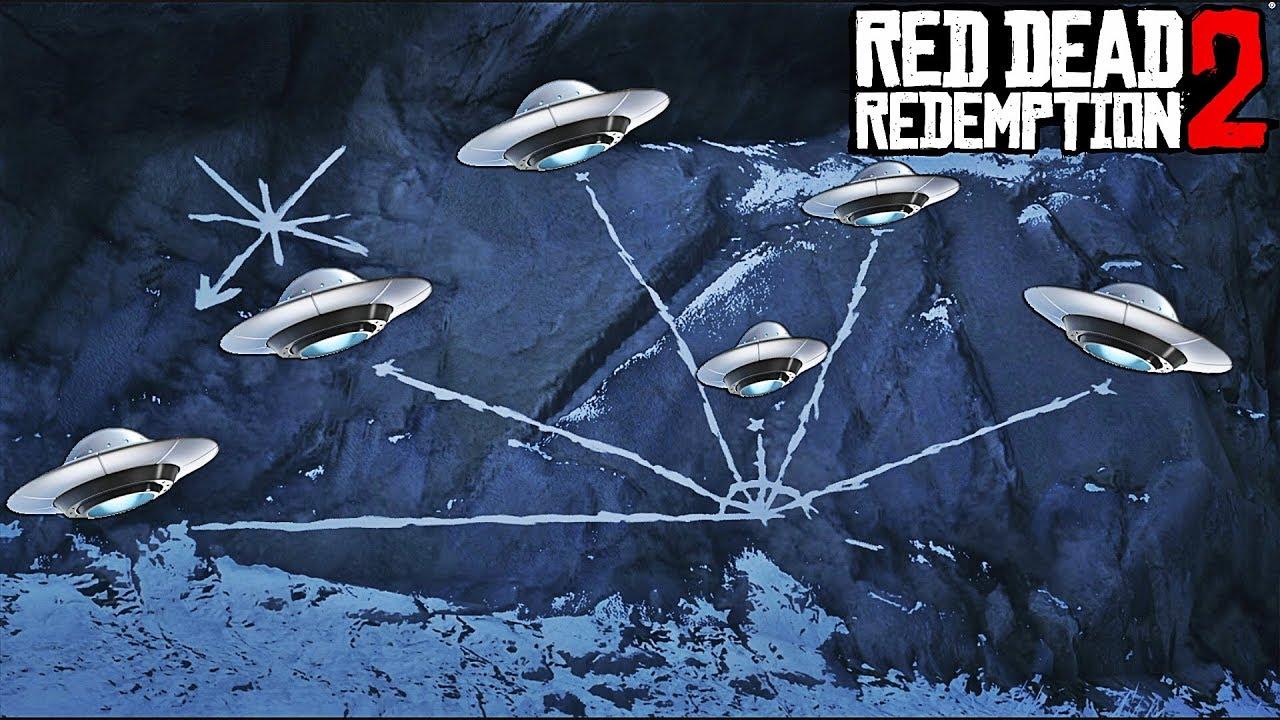 red dead redemption 2 carte panoramique SECRET) 6 OVNIS A DÉCOUVRIR DANS RED DEAD REDEMPTION 2   YouTube