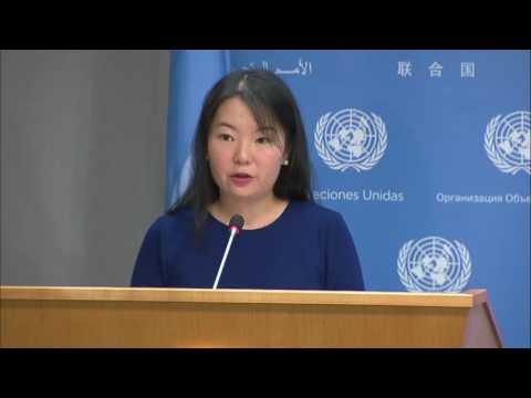 UN Chief to travel to Washington D.C. next week & other topics - Press Briefing (23 June 2017)