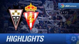 Resumen de Albacete Balompié (1-1) Sporting de Gijón - HD
