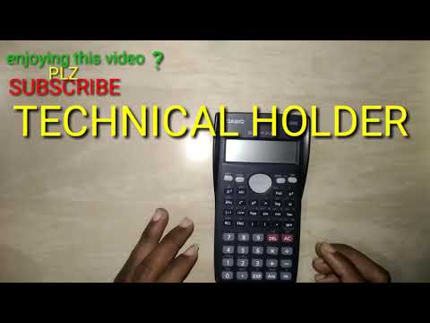 How To Save  Formula, Data, Calculations In Casio For EXAM
