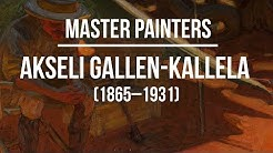 Akseli Gallen Kallela (1865-1931) A collection of paintings 4K Ultra HD