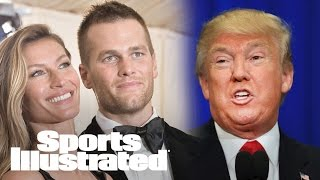 Tom Brady On Trump: Gisele 'Said I Can't Talk About Politics Anymore' | SI Wire | Sports Illustrated