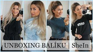 NEJLEPŠÍ OBSAH BALÍKU VŮBEC! UNBOXING - SheIn + Bangles.cz