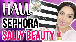 COMPRAS MEXICO!! SEPHORA + SALLY BEAUTY | MARIEBELLE COSMETICS