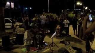 Edwin One Man Band QUELLA CHE NON SEI - Busking SummerTour 2014 - Vasto Marina