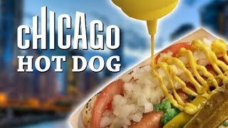 WE TRY THE BEST FOOD IN CHICAGO!  FEAT. THE CHICAGO DOG 🌭