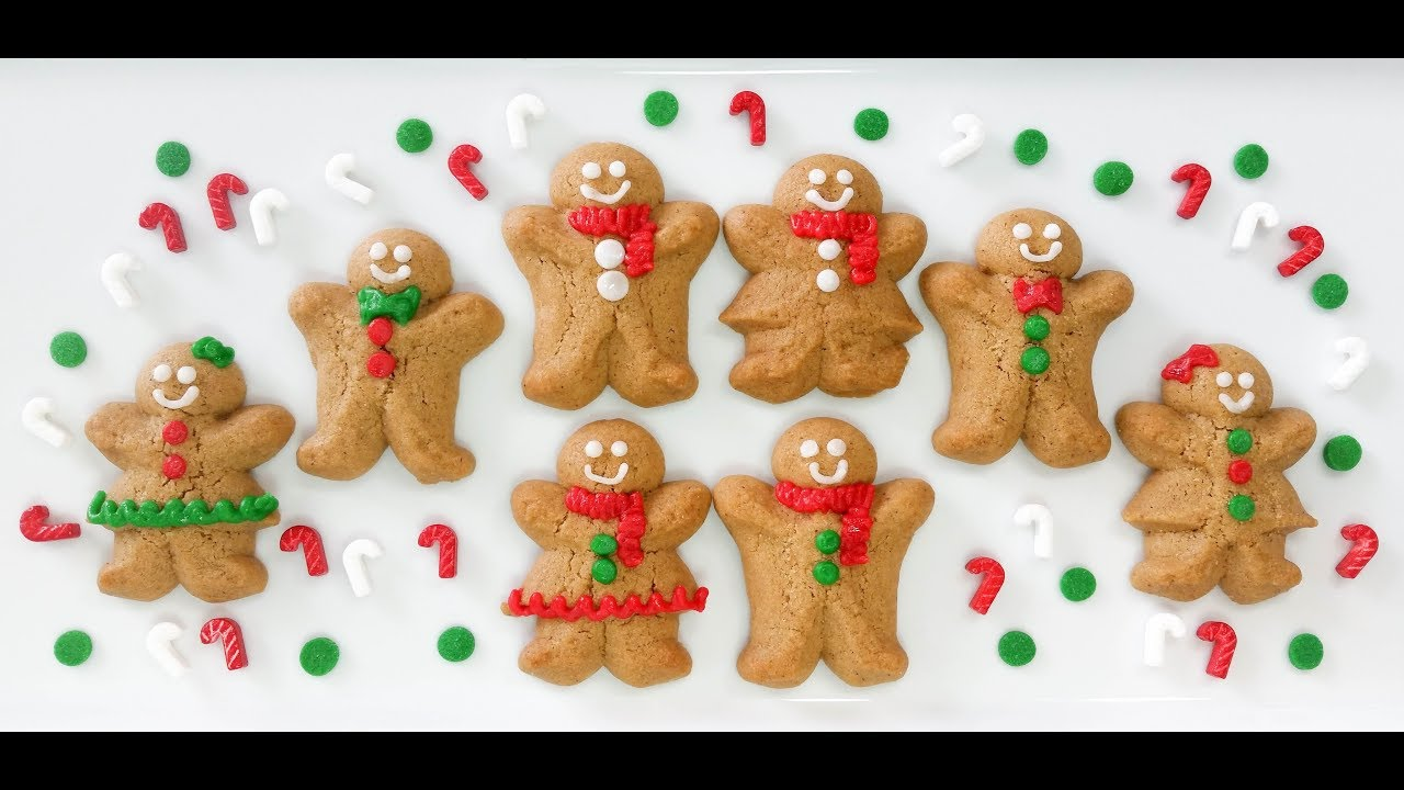 Gingerbread Spritz Cookie Boys Girls