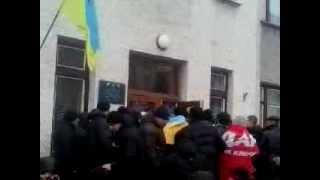 ЖМЕРИНКА штурм жмеринской мерии 2014 02 26 10 08 00