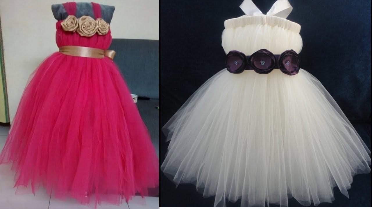 Vestidos De Tul Para Niñas 2017 Youtube