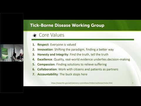 Tick-Borne Disease Working Group Meeting - June 21, 2018