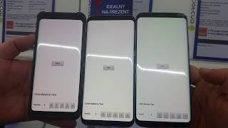 Różowy wyświetlacz Samsung S8 - Pink screen S8