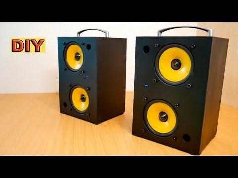 DIY: Twin Audio Bluetooth Speakers
