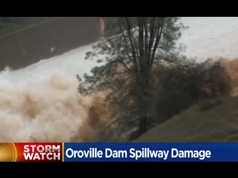 California FLOODS: Dam Breaks, Levee Breaks & Mudslides - YouTube