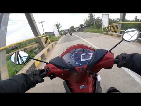 Top speed Honda Supra GTR150/Winner 150 [HD]