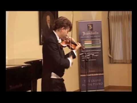 Manrico Padovani plays Paganini's Capriccio n. 1 live in Vienna (Bösendorfer Saal) 2 of 11