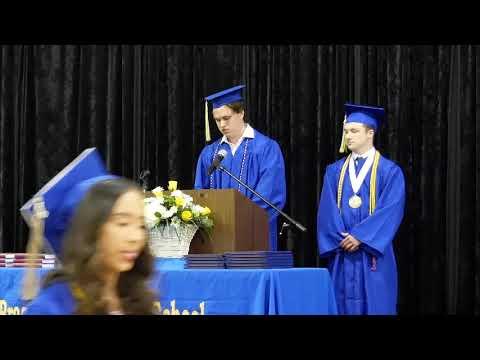 Brazosport Christian School Graduation 2020