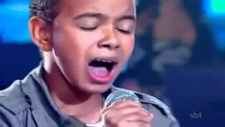 niño canta mejor que Justin bieber y le dedica a dios