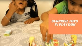 Surprise Toys I Play Doh And Play Time