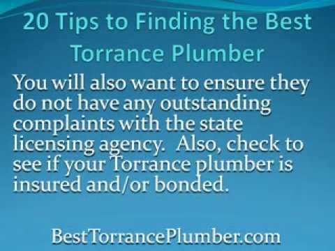 Torrance Plumber Tip 2
