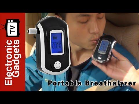 Portable Breathalyzer - Digital Alcohol Breath Tester