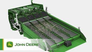 Kombajny John Deere serii S - Układ czyszczący
