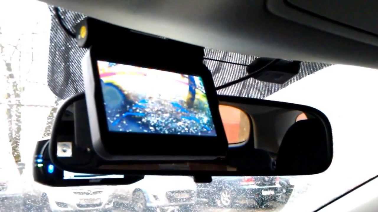 Камера заднего вида со складным монитором