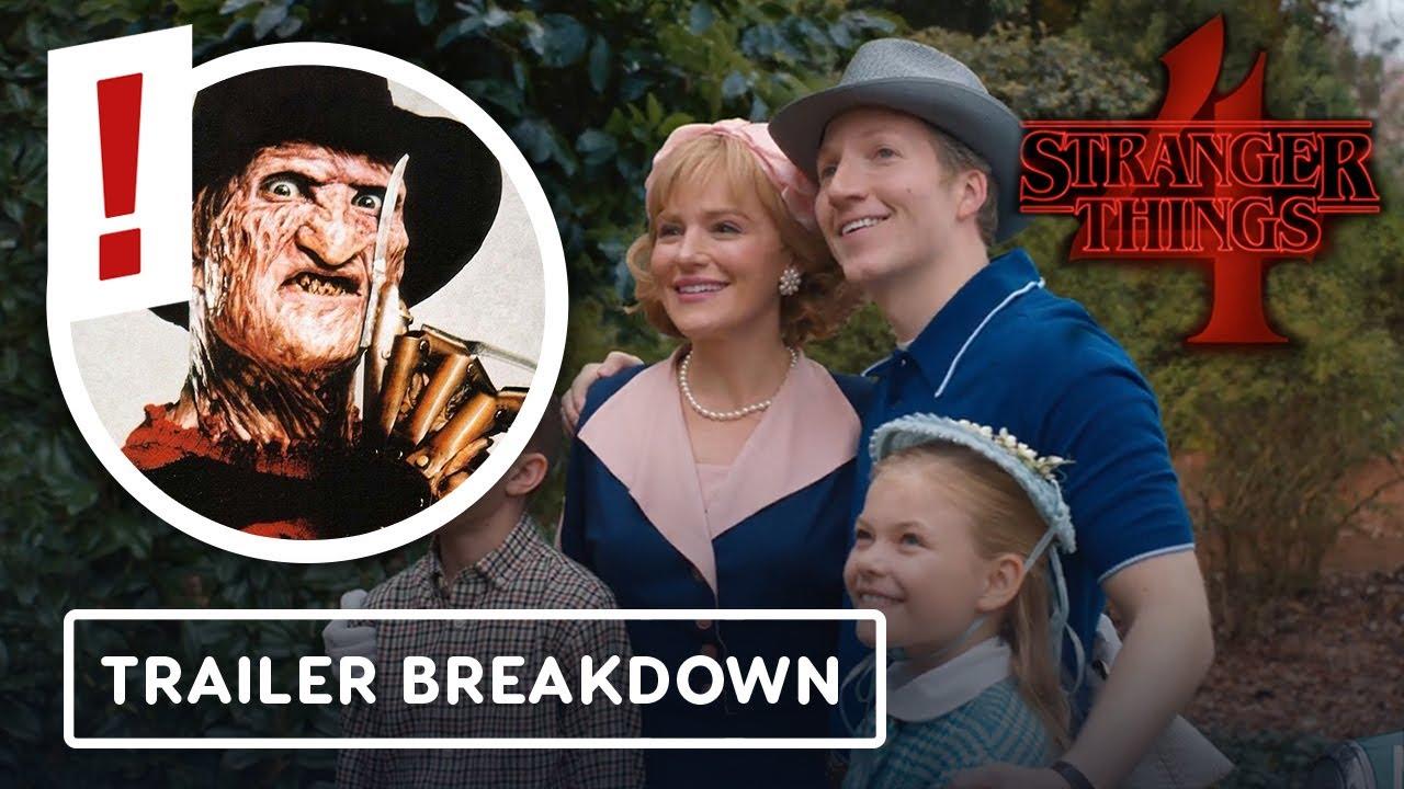 Download Stranger Things Season 4 Trailer: Freddy Krueger Easter Eggs and a New Mystery