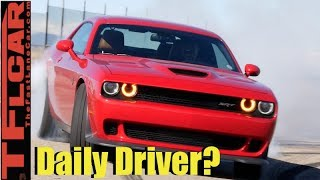 What's It Like To Daily Drive a 707 HP Hellcat?