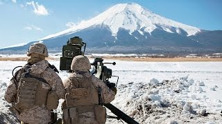 US Marines Live-fire Exercises at the Foot of Mount Fuji, Japan thumbnail
