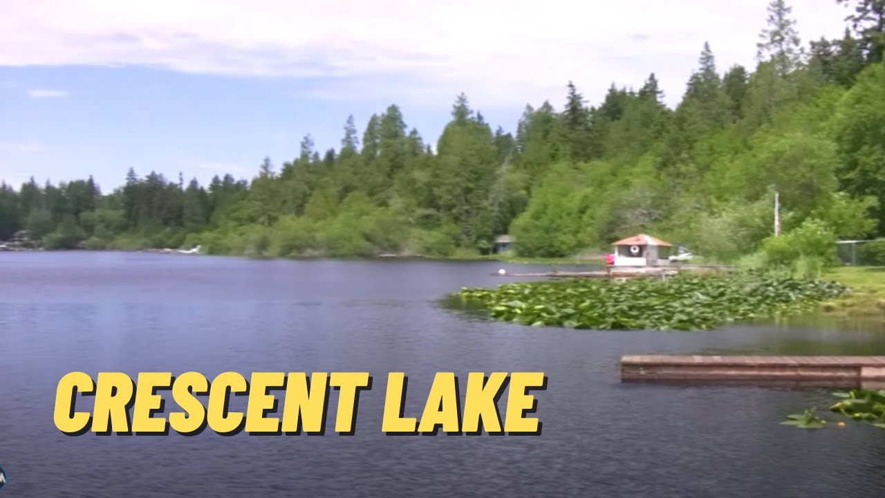 Crescent lake in pierce county youtube for Crescent lake fishing