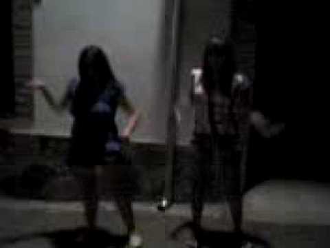 Abigueil y yo bailando