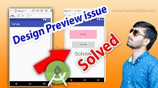 [Solved] Fix Design Preview issue not Showing in Android Studio