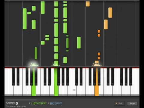 Steve Miller Band - The Joker on Synthesia