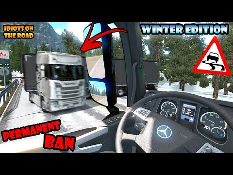 ★ IDIOTS On The Road #54 - ETS2MP | Funny Moments - Euro Truck Simulator 2 Multiplayer