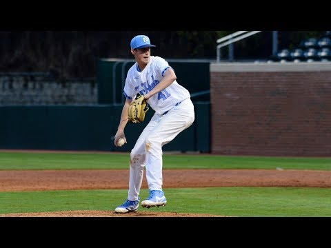 UNC Baseball: Cooper Criswell Fans 13 in Relief at Miami