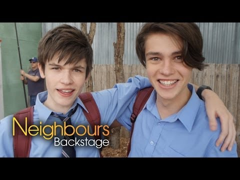 Calen Mackenzie Bailey Part 2  Neighbours Backstage