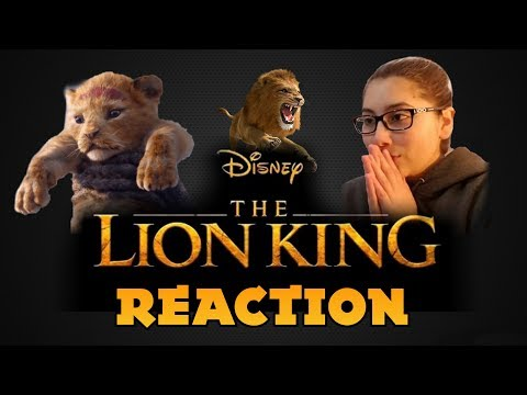 REACTION to The Lion King (2019) Trailer || HAPPY THANKSGIVING