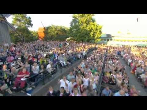 Basshunter - Boten Anna (Allsång på skansen 2012)
