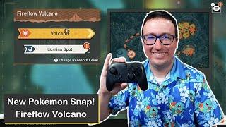 New Pokémon Snap! Fireflow Volcano on Nintendo Switch