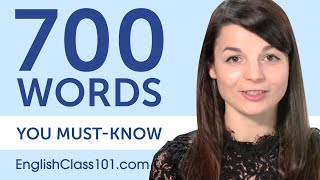 700 Words Every English Beginner Must Know