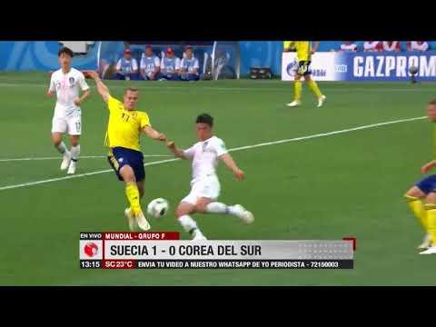 Mundial, Grupo F: Suecia 1 – 0 Corea Del Sur