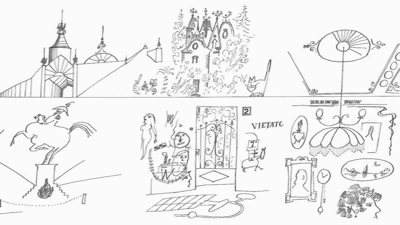 Saul Steinberg - The Line
