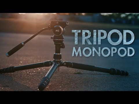 This Tripod Turns into a Monopod