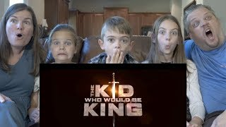 TRAILER REACTION TO THE KID WHO WOULD BE KING