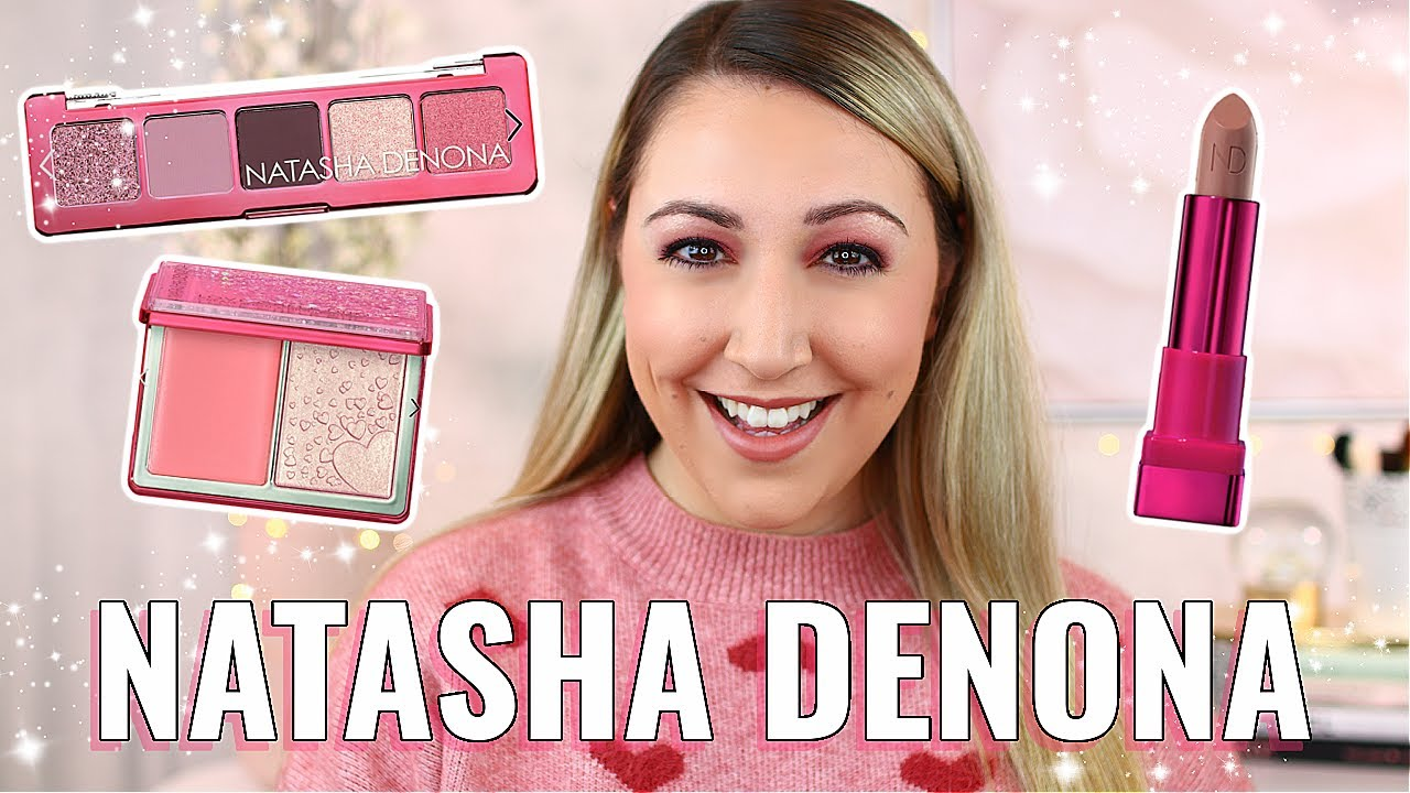 NATASHA DENONA MINI LOVE STORY COLLECTION! *Mini Love Palette, Love Cheek Duo & Amorosa Lipstick*